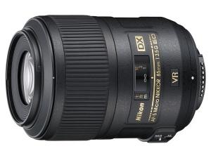 AF-S 85mm f/3.5G ED VR DX Micro Nikon