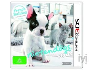 Nintendogs and Cats: French Bulldog and New Friends (Nintendo 3DS) Nintendo