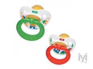 %0 BPA Emzik Kauçuk Happy Kids (18 ay+) (NUK-33271) Nuk