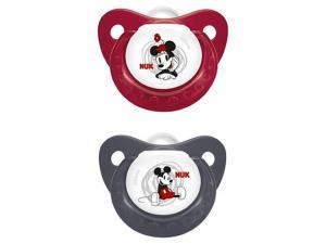 735693 Disney Mickey Silikon Emzik 2`li No: 1 Nuk