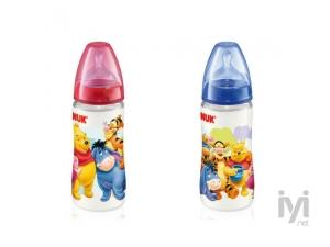 First Choice Disney Silikon Emzikli PP Biberon Orta Delik 0-6 Ay 150 ml Nuk