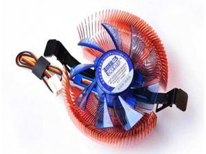 E80C Intel/AMD 8cm Işlemci Fanı Slim Pc Cooler