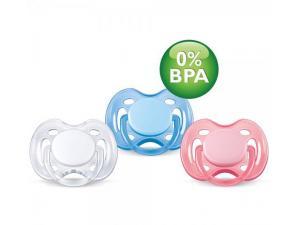 0 BPA Free Flow Yalancı Emzik 0-6 Ay Renkli Tekli Philips Avent