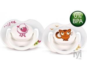 0 BPA Free Flow Yalancı Emzik 0-6 Ay Truman Serisi 2 li Philips Avent