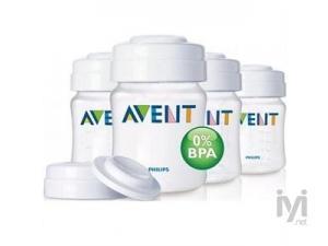 %0 BPA PP Mama ve Süt Saklama Kabı 4 adet Philips Avent