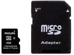 MicroSDHC 4GB FM04MA35B-97 Philips