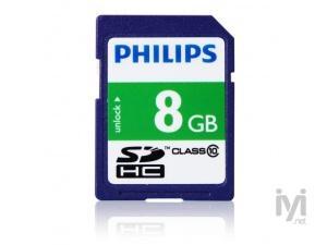SDHC 8GB Class 10 FM08SD45B/97 Philips