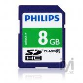 Philips SDHC 8GB Class 10 FM08SD45B/97