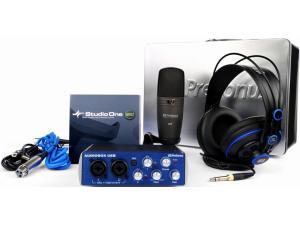 1Box AudioBox, StudioOne Artist, M7, HD7 oluşan başlangıç paketi Presonus
