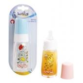 Silikon Kiraz Uçlu Kulplu Cam Biberon 125 ml (BPA%0)