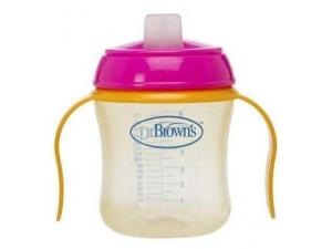 Damla Akitmaz Silikon Uclu Kulplu Bardak 170 ml Dr Brown's
