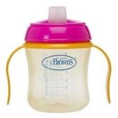 Dr Brown's Damla Akitmaz Silikon Uclu Kulplu Bardak 170 ml