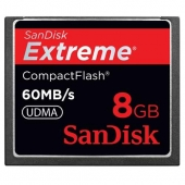 Sandisk 8GB Extreme Compact F SDCFX-008G-X46