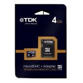TDK SDHC Travelcard 4GB Class 4