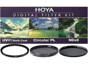 77mm Üçlü Filtre Seti Hoya