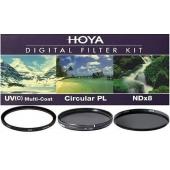 Hoya 77mm Üçlü Filtre Seti