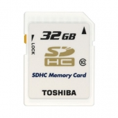Toshiba 32 GB SDHC Kart Class 10 RAMSEC032GTOS100