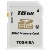 Toshiba 16GB SDHC Class 10 RAMSEC016GTOS120