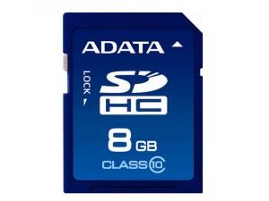 SDHC Turbo 8GB Class 10 A-Data