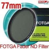 Fotga 77mm ND Filtre ND2-400 1-8 Stop