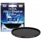 Hoya 55mm ND8 Pro1 Digital Filtre