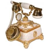 Anna Bell Saray Konak Beyaz Klasik Telefon