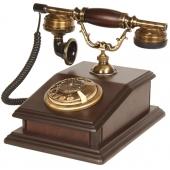 Anna Bell Ahşap Büro Klasik Telefon