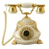 Anna Bell Tombul Altın Varaklı Swarovski Taşlı Telefon
