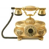 Anna Bell Venüs Altın Varaklı Swarovski Taşlı Telefon