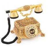 Anna Bell Şato Altın Varaklı Swarovski Taşlı Telefon