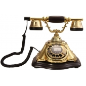Anna Bell Piramit Altın Varaklı Telefon