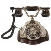Anna Bell Piramit Gümüş Klasik Telefon