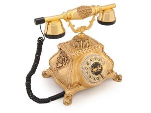 Anna Bell Meltem Altın Varaklı Swarovski Taşlı Telefon