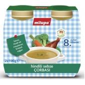 Milupa Hindili Sebze Çorbası Multipack 2X190Gr