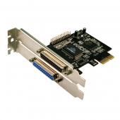 LogiLink 2 Port Paralel PCI Express Kart PC0032