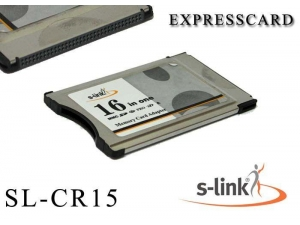 SL-CR15 Pcmci Kart Okuyucu S-link