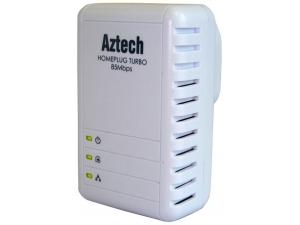 Aztech HL106E Homeplug Ethernet Adaptör 85Mbs(Tek