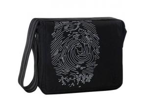 Lassig Fingerprint Siyah Anne Çanta