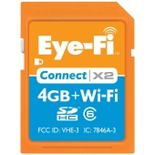 Eye-Fi Connect X2 4 GB Class 6+Wi-Fi SDHC