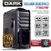 Dark SUB-ZERO 80PLUS 750W