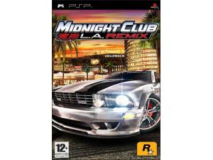 Midnight Club: Los Angeles Remix (PSP) Rockstar Games