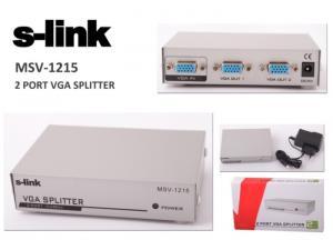 MSV-1215 Monitör Çoklayıcı S-link