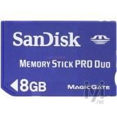 Sandisk MemoryStick PRO Duo 8Gb