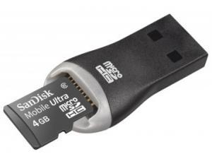 MicroSDHC Ultra 4GB Class 6 Sandisk