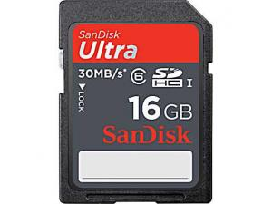 SDHC Ultra 16GB Class 6 Sandisk