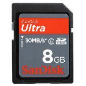 Sandisk SDHC Ultra 8GB Class 6