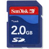 Sandisk SecureDigital 2GB (SD)