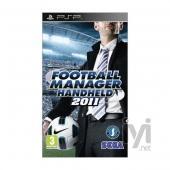 Sega Football Manager Handheld 2011 (PSP)