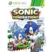 Sega Sonic Generations Xbox 360