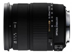 18-200mm f/3.5-6.3 DC OS Sigma